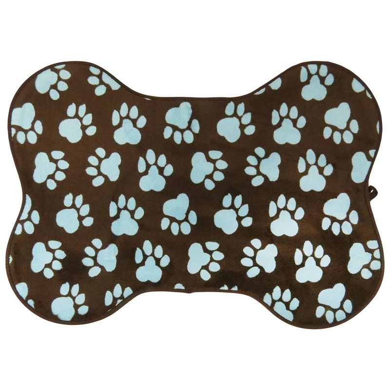 PB Paws World Paws Memory Foam Bath Mat