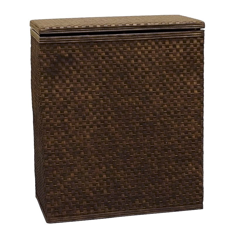 LaMont Home Whitaker Apartment Hamper, Brown