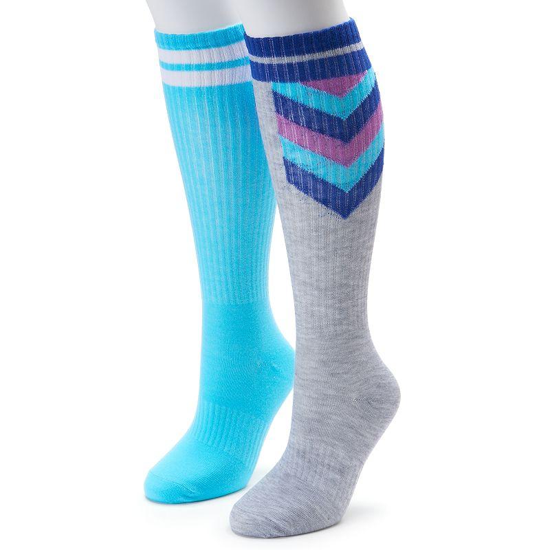 Women's SO® 2-pk. Striped Knee-High Socks