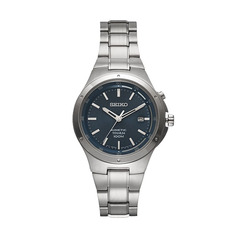 Seiko Men's Core Titanium Kinetic Watch - SKA729