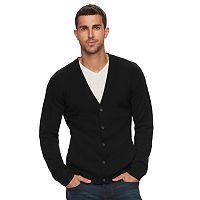 Men's Marc Anthony Slim-Fit Solid Button-Front Cashmere Cardigan