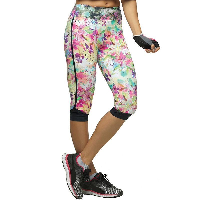 Women's Lupo Fit Gym Capri Workout Leggings