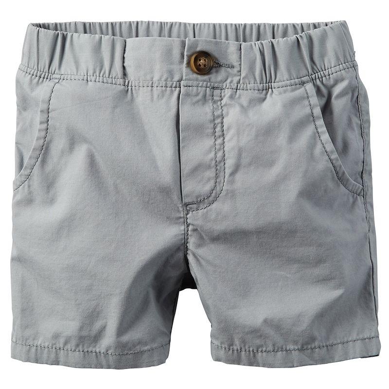 Boys 4-7 Carter's Pull-On Poplin Shorts