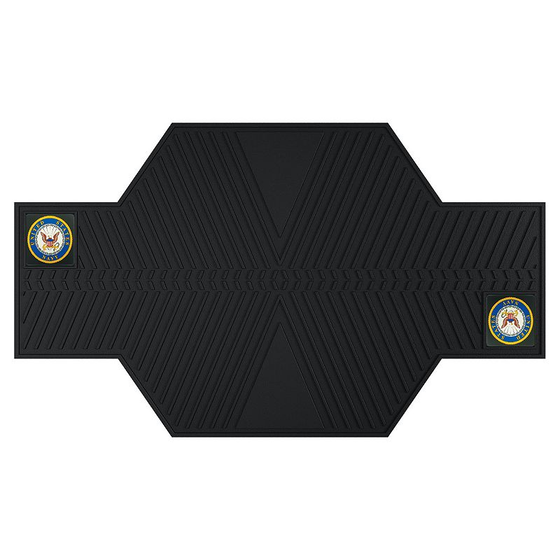 FANMATS United States Navy Motorcycle Mat