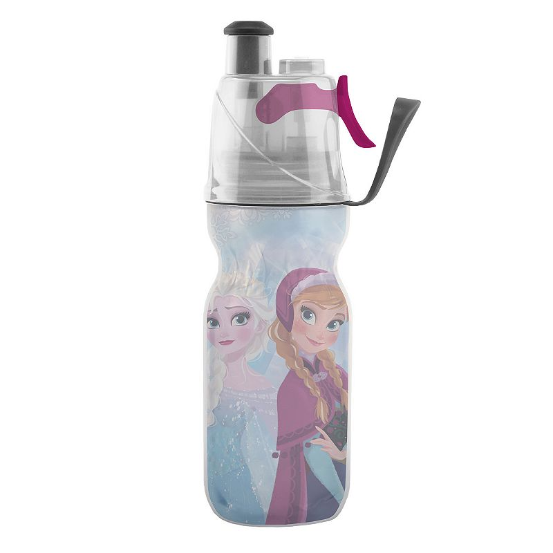 O2COOL Mist 'N Sip Disney's Frozen Elsa & Anna 12-oz. Insulated Water Bottle