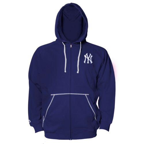 Big & Tall Majestic New York Yankees Full-Zip Fleece Hoodie