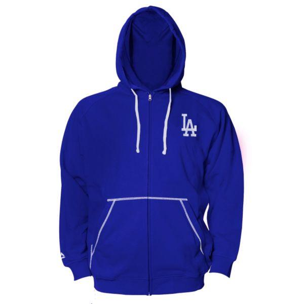 Big & Tall Majestic Los Angeles Dodgers Full-Zip Fleece Hoodie