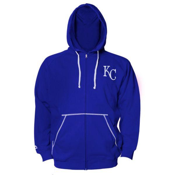 Big & Tall Majestic Kansas City Royals Full-Zip Fleece Hoodie