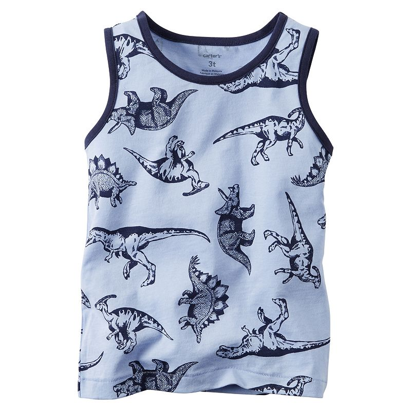Baby Boy Carter's All-Over Graphic Tank