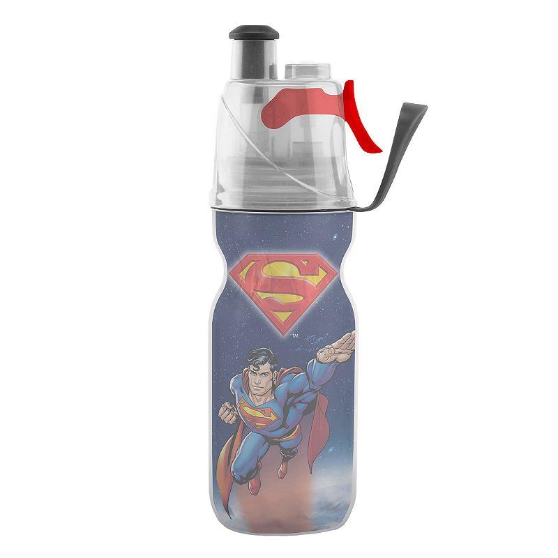 O2COOL Mist 'N Sip 12-oz. DC Comics Superman Water Bottle