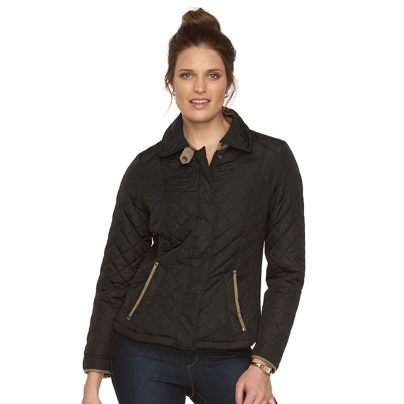 Women's Weathercast Side Stretch Quilted Jacket