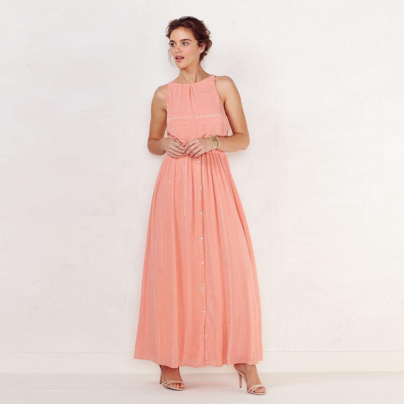 Women's LC Lauren Conrad Shimmer Maxi Dress