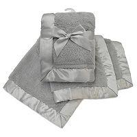 TL Care Sherpa Receiving Blanket