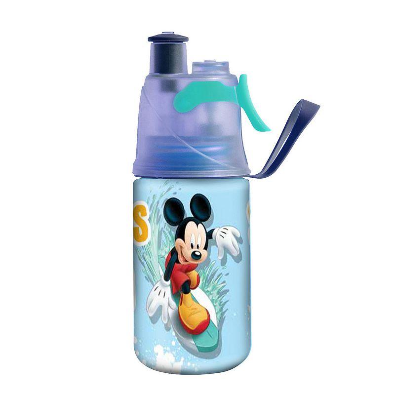 O2COOL Mist 'N Sip Disney's Mickey Mouse 12-oz. Water Bottle