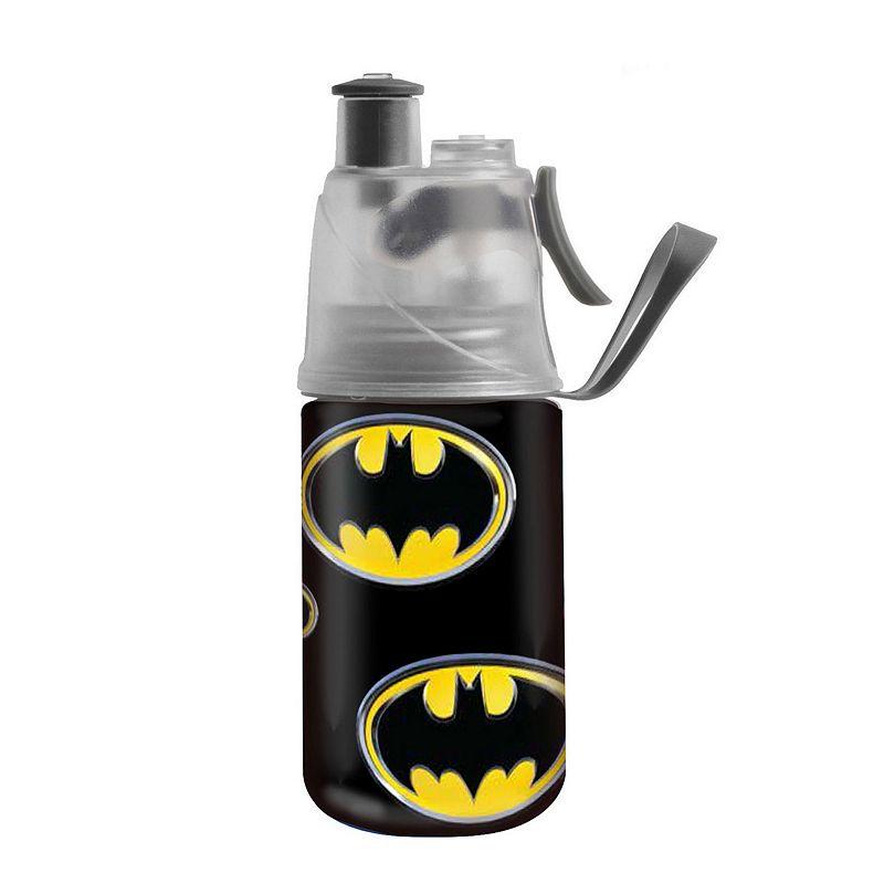 O2COOL Mist 'N Sip 12-oz. DC Comics Batman Water Bottle