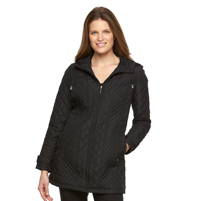 Women's Weathercast Multi Quilted Hooded Walker Jacket