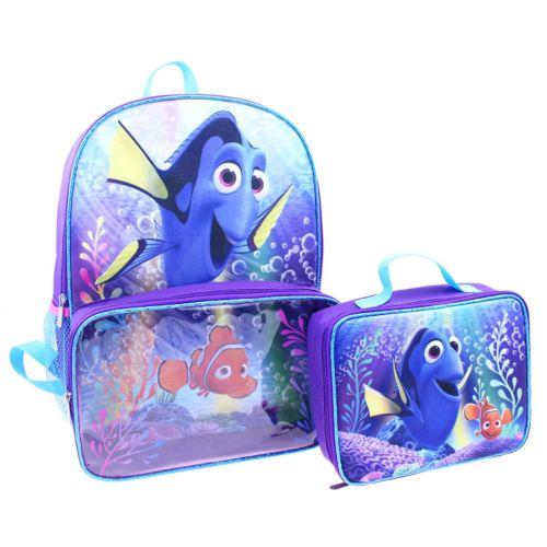 Disney / Pixar Finding Dory Kids Backpack & Lunch Bag Set