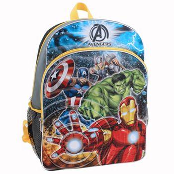 Kids Marvel Avengers Light-Up Backpack