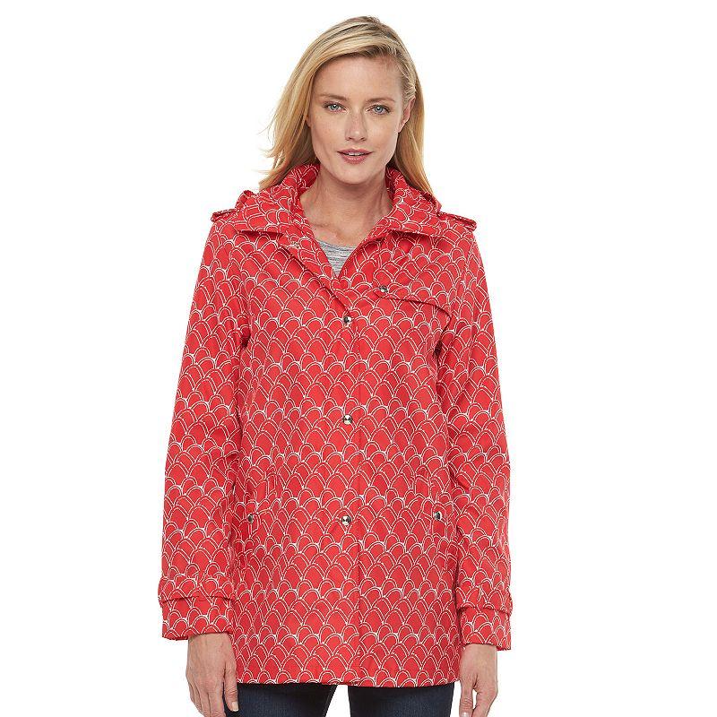 Women's Weathercast Hooded Rain Jacket