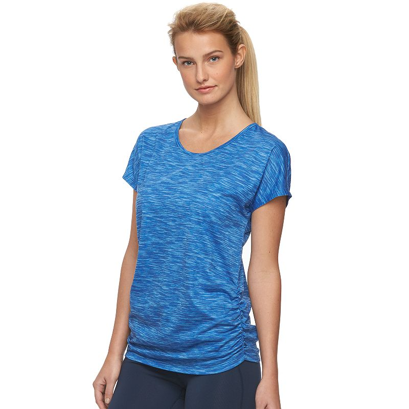 Women's Tek Gear® Drop-Shoulder Scoopneck Workout Tee