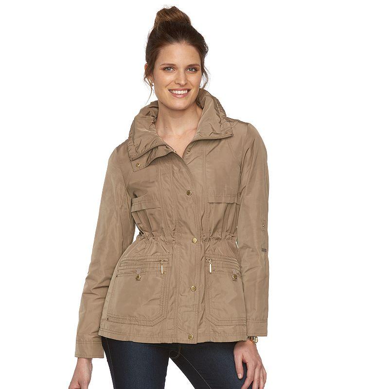 Women's Weathercast Hooded Anorak Jacket