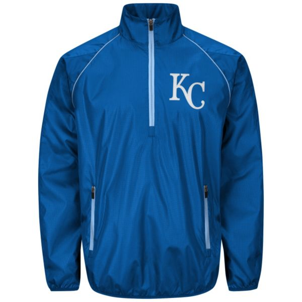 Men's Kansas City Royals Player Lightweight Pullover Jacket