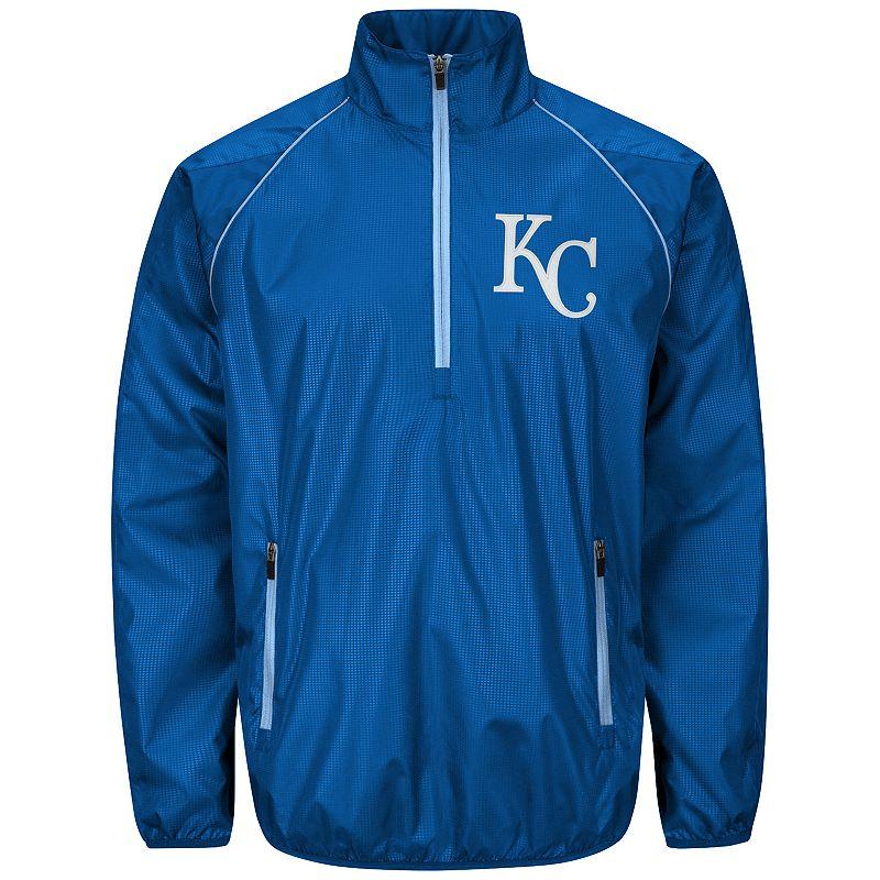 Men's Kansas City Royals Player Lightweight Pullover Jacket