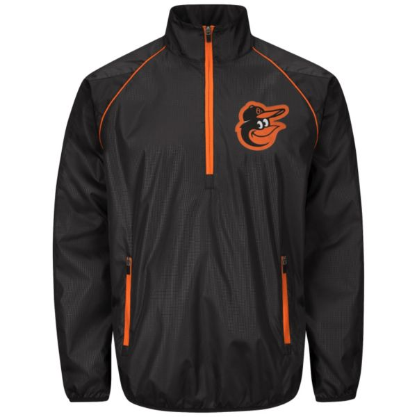 Men's Baltimore Orioles Player Lightweight Pullover Jacket