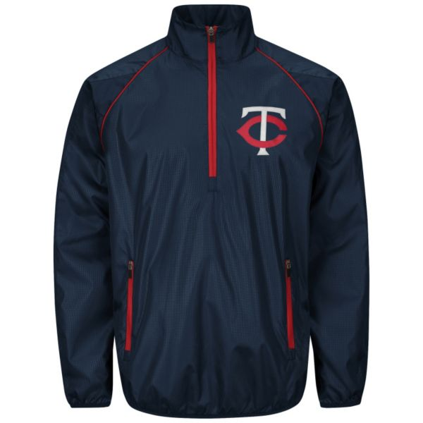 Men's Minnesota Twins Player Lightweight Pullover Jacket