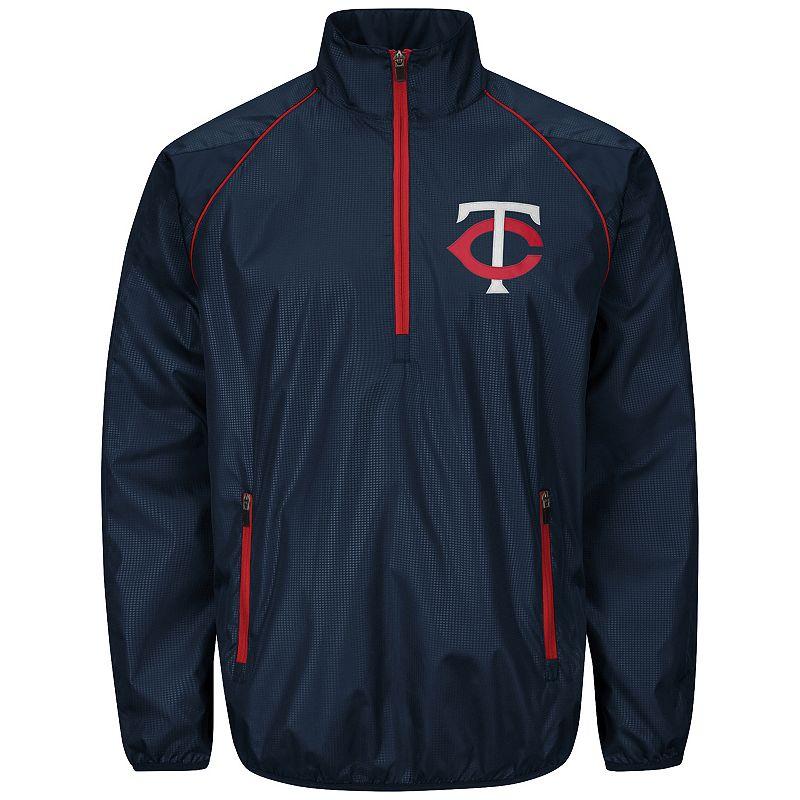 Men's Minnesota Twins Player Lightweight Pullover Jacket