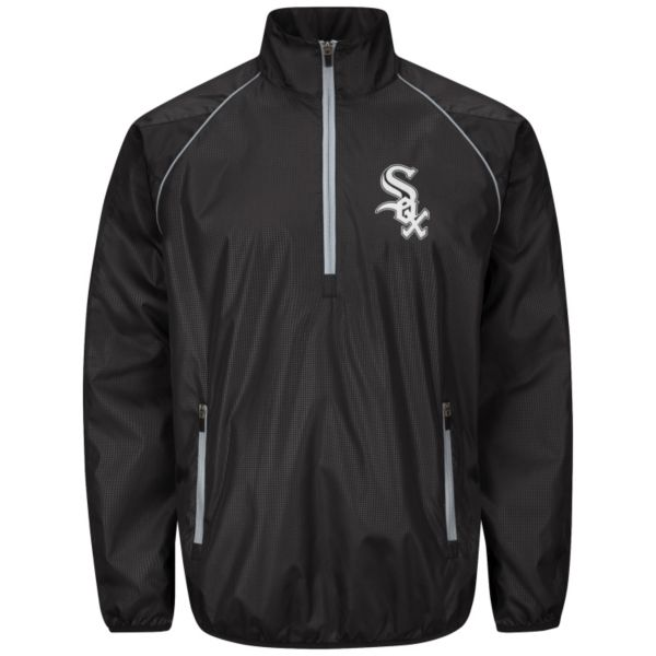 Men's Chicago White Sox Player Lightweight Pullover Jacket