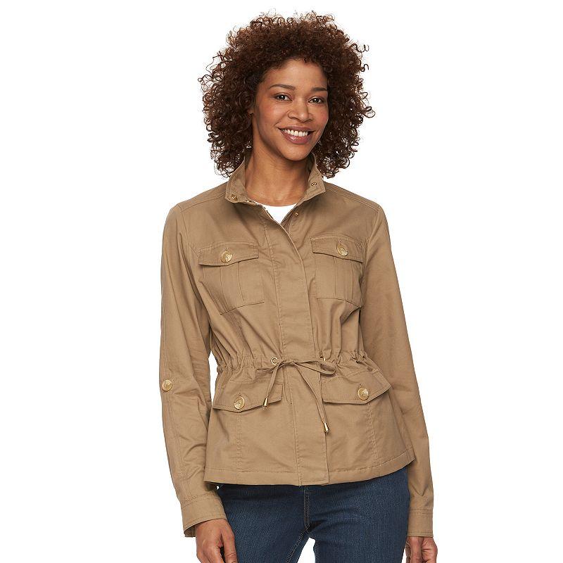 Women's Weathercast Roll-Tab Anorak Jacket