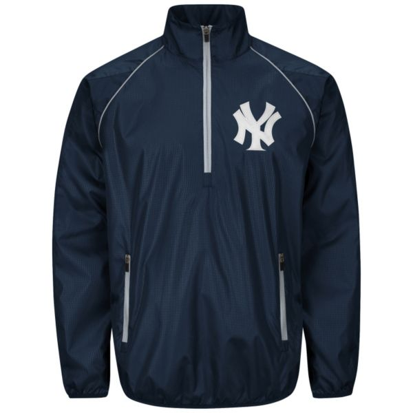 Men's New York Yankees Player Lightweight Pullover Jacket