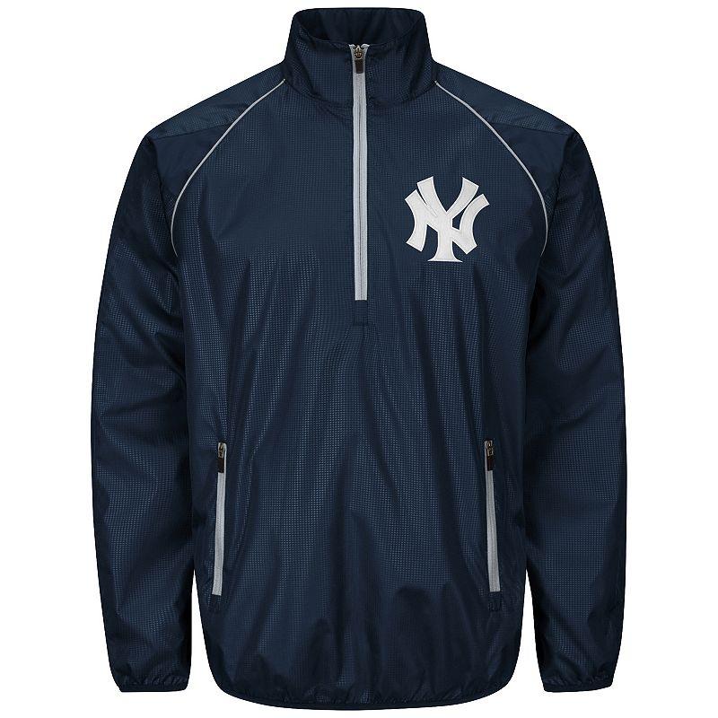 Men's New York Yankees Player Lightweight Pullover Jacket