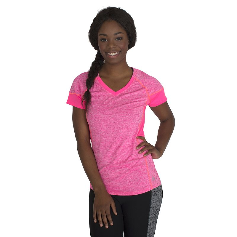 Women's RBX Heathered V-Neck Workout Tee