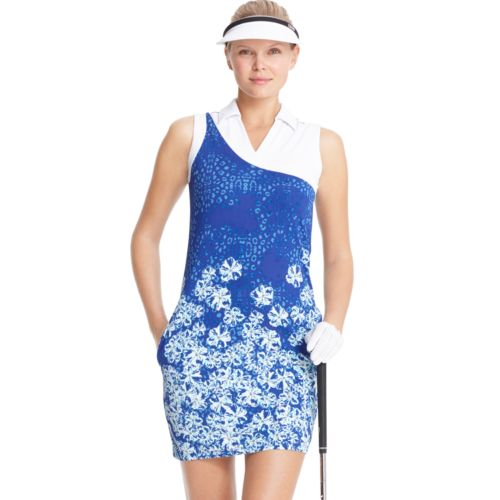 Women's IZOD Asymetrical Sleeveless Golf Dress