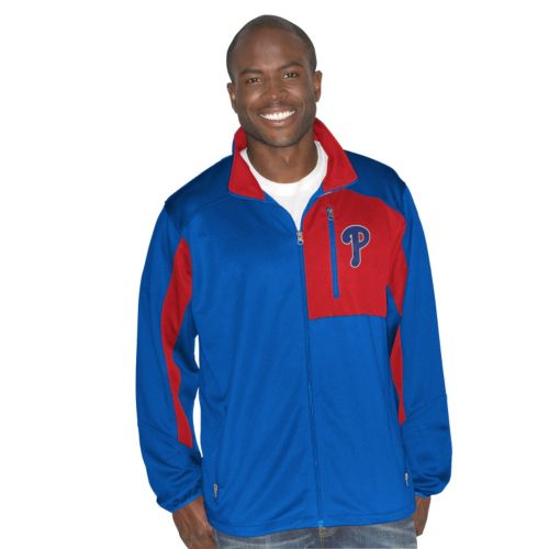 Men's Philadelphia Phillies Player Full-Zip Jacket
