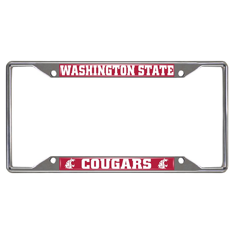 Washington State Cougars License Plate Frame