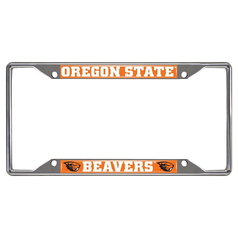 Oregon State Beavers License Plate Frame