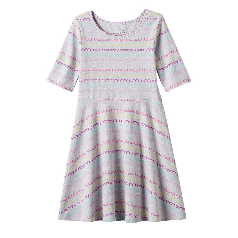 Girls 4-7 Jumping Beans® Printed Skater Dress