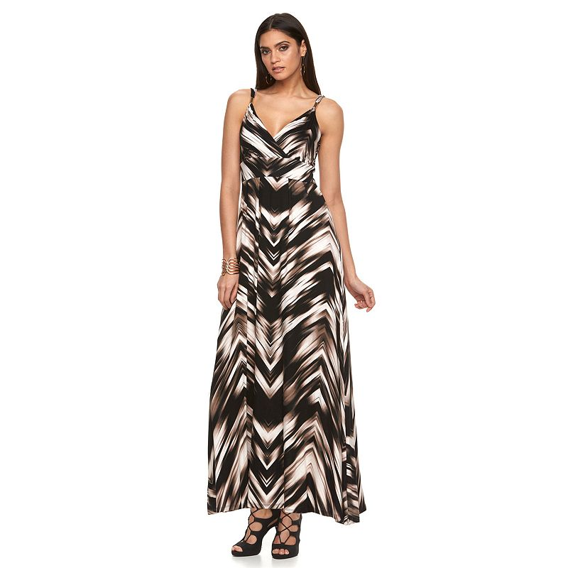 Petite Jennifer Lopez Empire Maxi Dress