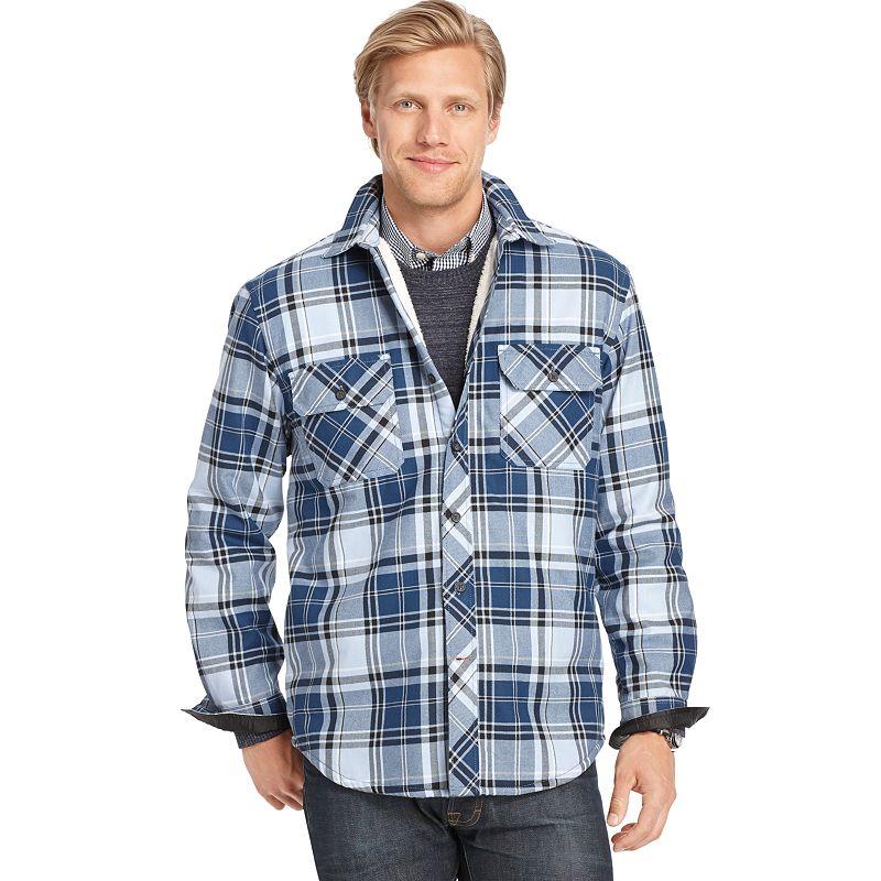 Men's IZOD Heavy Twill Shirt Jacket