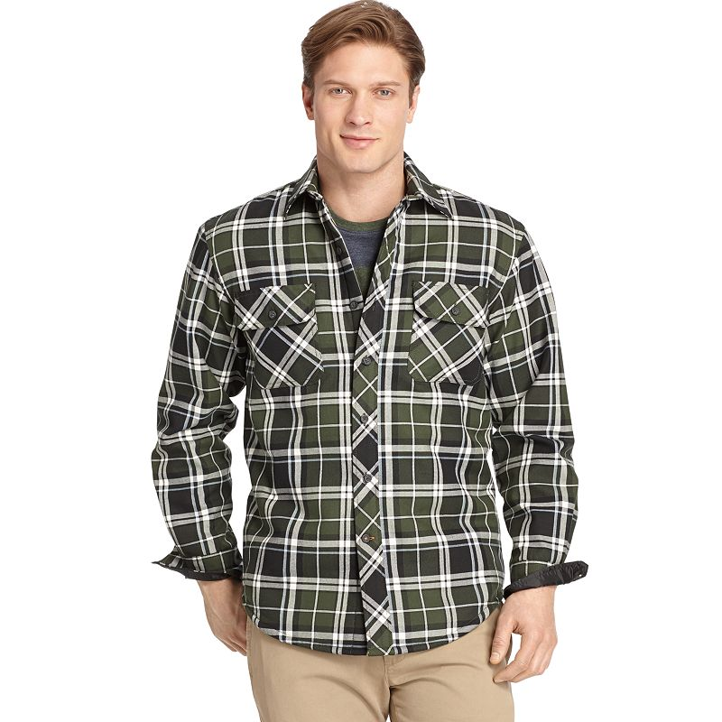Men's IZOD Heavy Twill Shirt Jacket