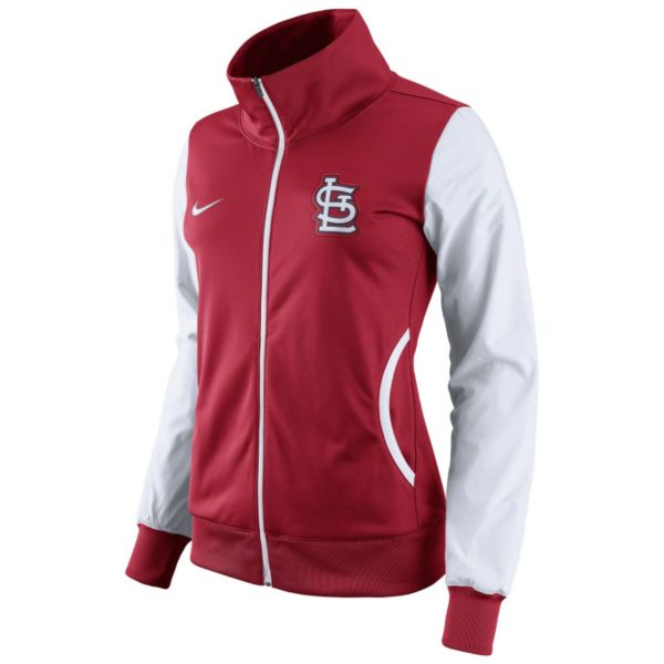 Women's Nike St. Louis Cardinals Track Jacket