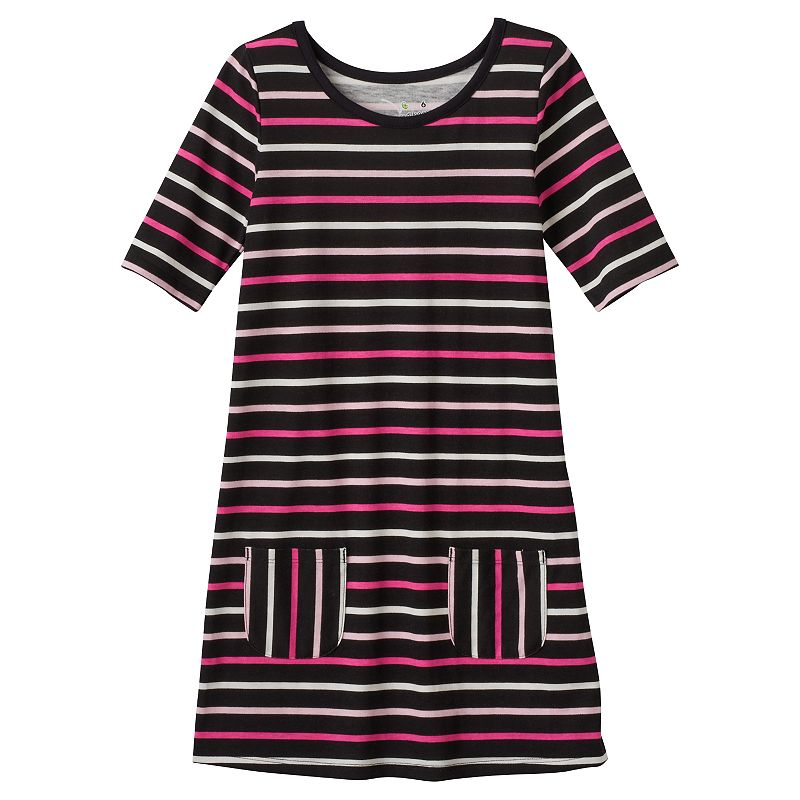 Girls 4-7 Jumping Beans® Striped Shift Dress