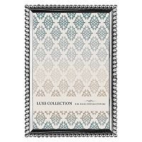 Luxe Collection 4'' x 6'' Beaded Metal Frame