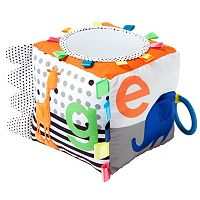 giggle Zoo Animal Soft Activity Cube