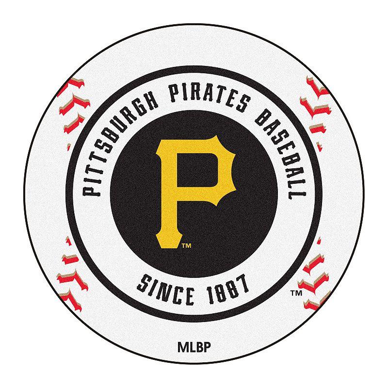 FANMATS Pittsburgh Pirates Baseball Rug