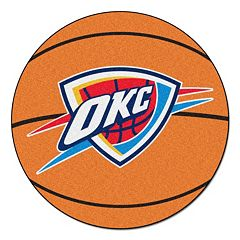 FANMATS Oklahoma City Thunder Basketball Rug by