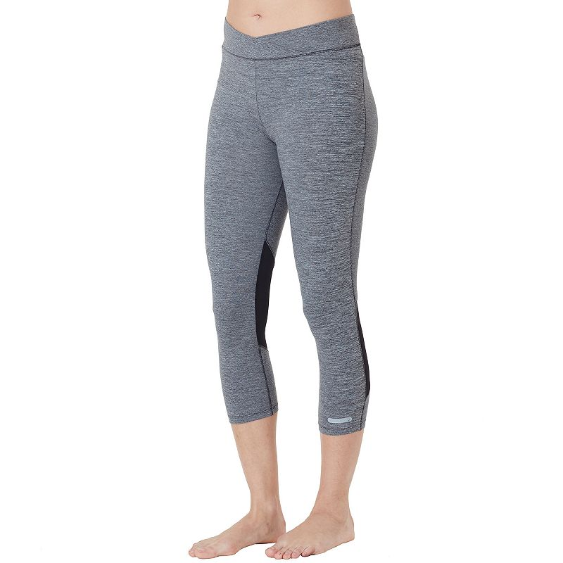 Women's Cuddl Duds SportLayer Mesh Workout Leggings